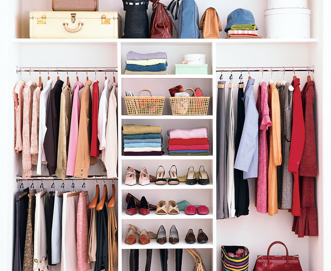 Maximize your closet storage space