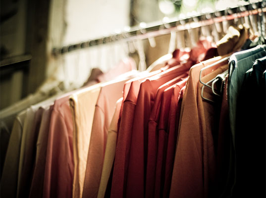 Take care of your garments and other stored items